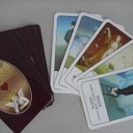 Vykládací karty výtvarně ztvárněné paní Ivou Hüttnerovou.