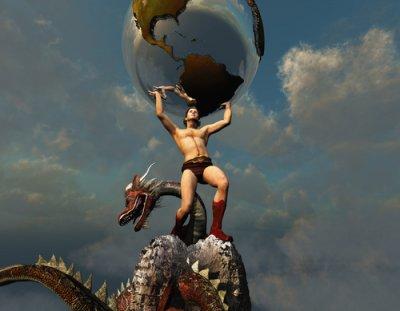 Atlas, bohové