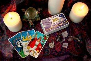 Karty a svíčky